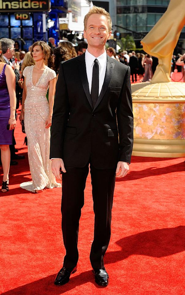 "Neil Patrick Harris (""How I Met Your Mother"") arrives at the 61st Primetime Emmy Awards held at the Nokia Theatre on September 20, 2009, in Los Angeles."
