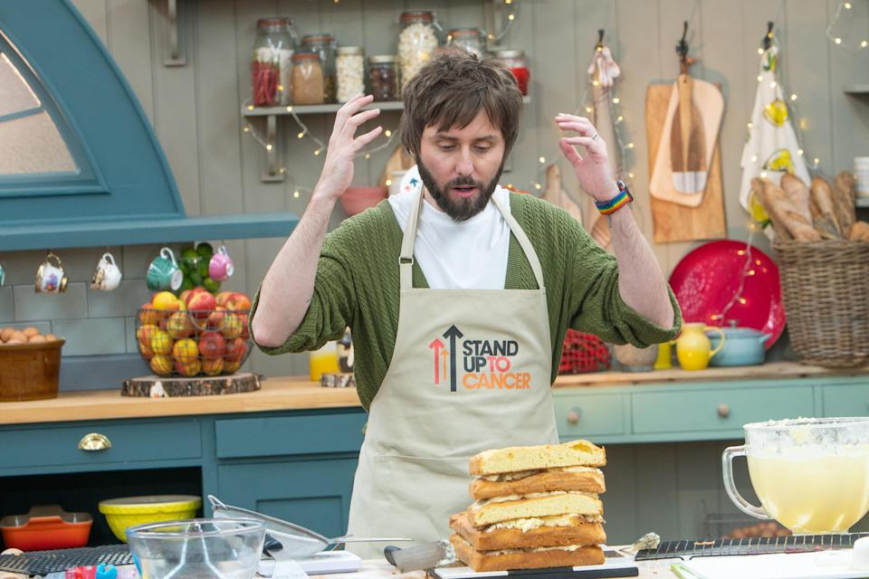 James Buckley was named Star Baker. (Channel 4/Mark Bourdillon)