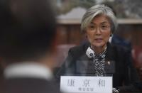 Chinese Foreign Minister Wang Yi meet with South Korean foreign minister Kang Kyung-wha in Seoul