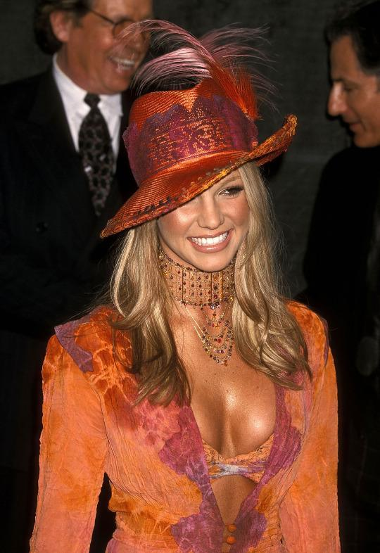 <p>If there is anyone that could pull off this look, it's Britney. (Photo: Getty Images)</p>