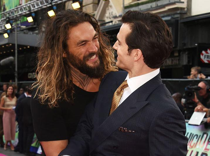 Jason Momoa is geeking out now that he's in Justice League, is a *total* fanguy
