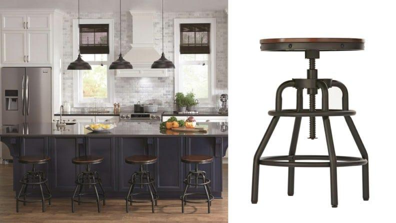 You can adjust the height of the stool up to 31 inches.