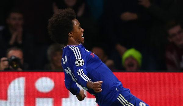 Premier League: Jose Mourinho möchte Willian zu Manchester United holen