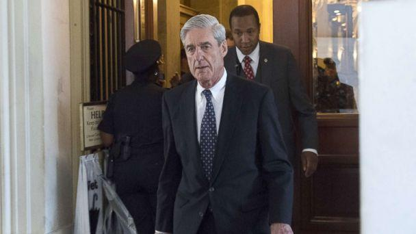 PHOTO: Former FBI Director Robert Mueller, special counsel on the Russian investigation, leaves following a meeting with members of the U.S. Senate Judiciary Committee at the US Capitol, June 21, 2017, in Washington. (Saul Loeb/AFP/Getty Images)