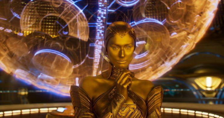 Elizabeth Debicki as Ayesha in Guardians of the Galaxy Vol. 2