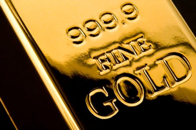 Gold Prices Trade Just Below $1325