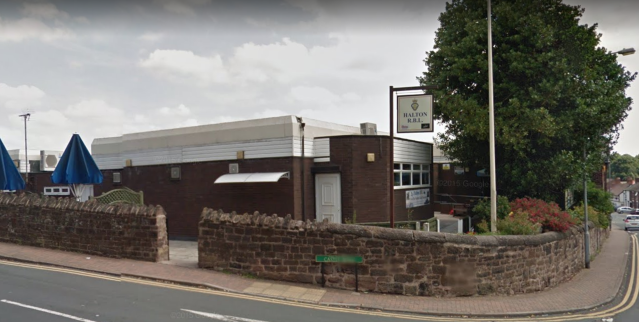 "<em>The Royal British Legion club in Halton, Runcorn, where a teenager was found with a ""serious injury"" (Picture: Google Maps)</em>"