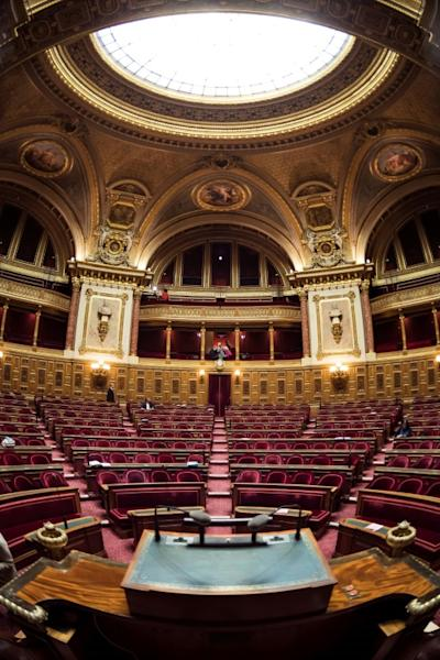 Sunday's vote will involve 171 of the French Senate's 348 seats