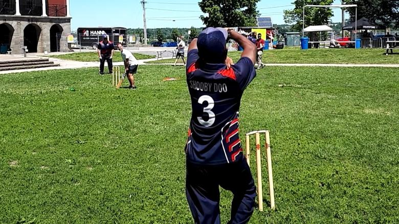Keep calm and bat on, cricket returns to Fredericton's Officers' Square