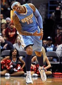 Carmelo Anthony is headed to the Knicks in a blockbuster trade with the Nuggets that also includes the Timberwolves