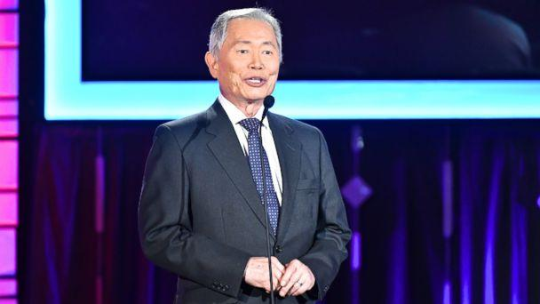 PHOTO: Presenter George Takei speaks onstage at AARP's 16th Annual Movies For Grownups Awards at the Beverly Wilshire Four Seasons Hotel, Feb. 6, 2017 in Beverly Hills, Calif. (Earl Gibson III/Getty Images, FILE)