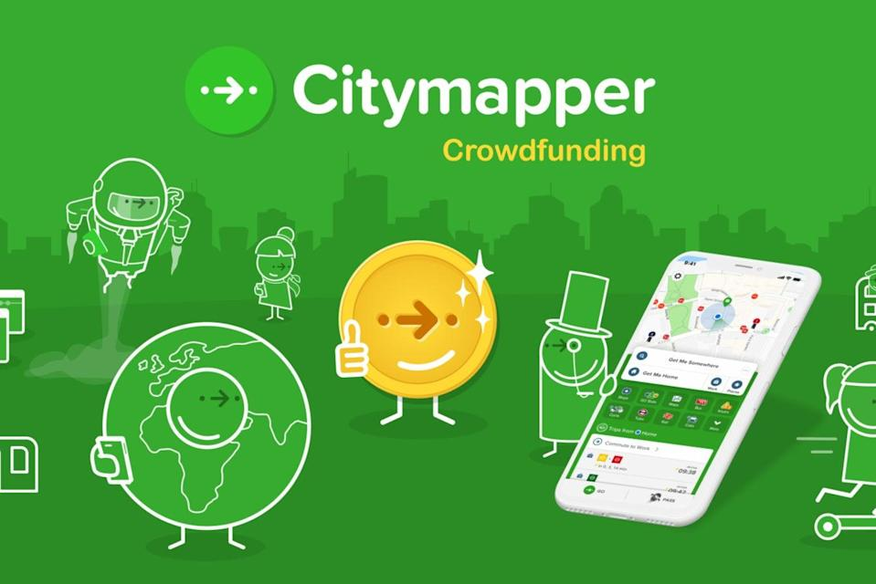 <p>The loss-making start-up was launched in London in 2011 by former Google employee Azmat Yusuf as a way to find out the best ways to navigate the capital on public transport</p> (Citymapper)