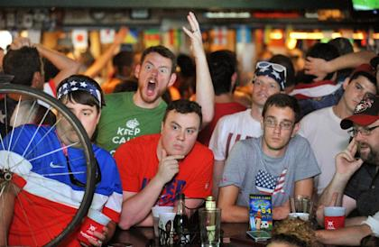 Is the World Cup just another excuse for Americans to drink and get loud? (AP)