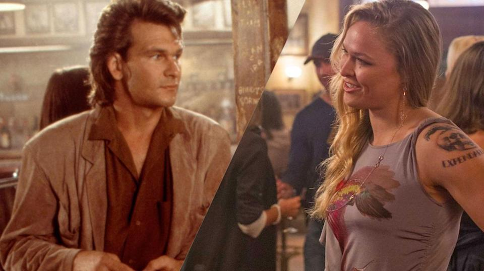 <p>Variety announced this gender-swapped reboot in 2015, with Ronda Rousey set to star in the Patrick Swayze role, but it's stuck in development hell, thanks to director Nick Cassavetes' decision to head to the MMA with Blake Lively instead, for a different kind of female-led fight flick, <em>Bruised</em>. </p>