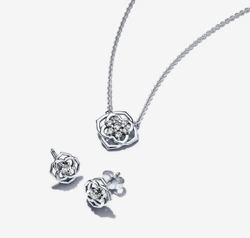 Rose Petals Jewelry Gift Set. Image via Pandora.