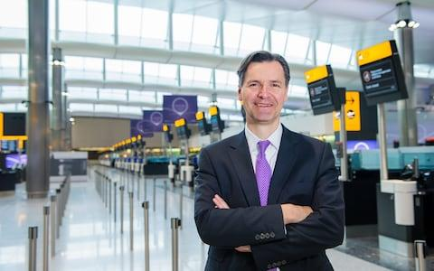 John Holland-Kaye, chief executive of Heathrow - Credit: LHR Airports Limited