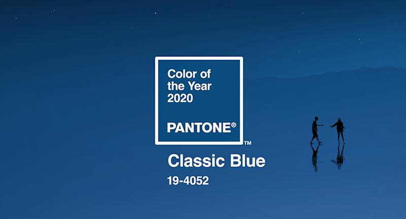 Pantone: The Colour Institute has announced Classic Blue as its Colour of the Year. [Photo: Pantone]