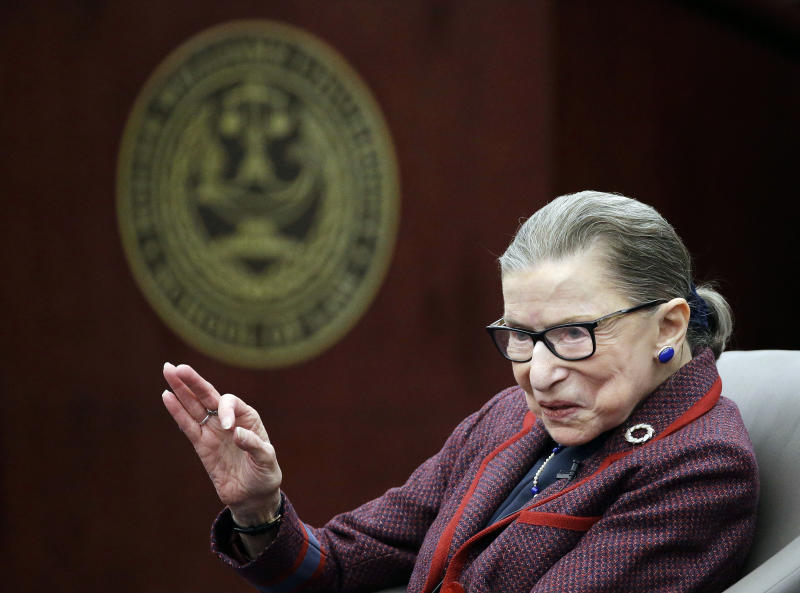 Ginsburg aiming for 5 more years on US Supreme Court