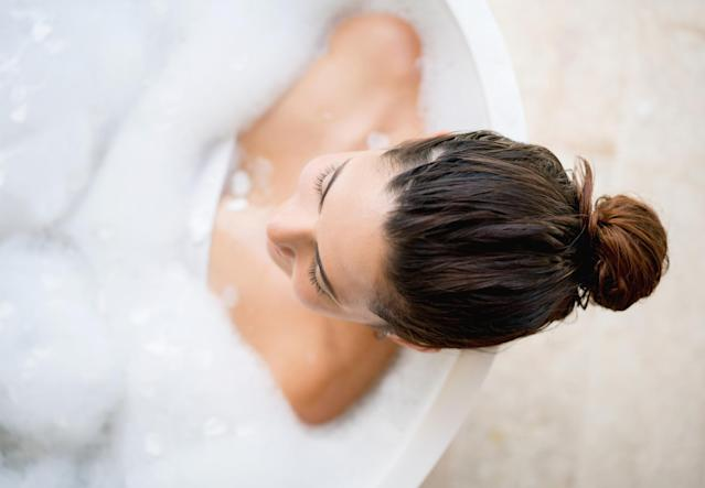 Taking regular baths has been linked to a lower risk of death from heart disease and stroke. (Getty Images)