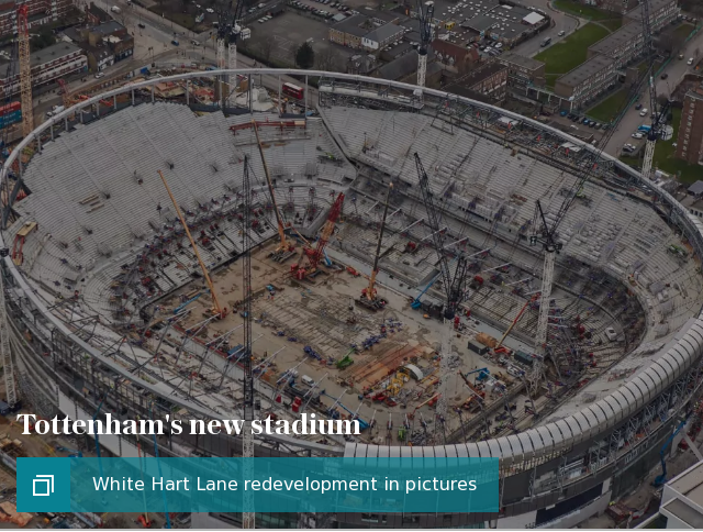 Tottenham Hotspur could still play Champions League football in their new stadium, despite confirming they will not move there before March.