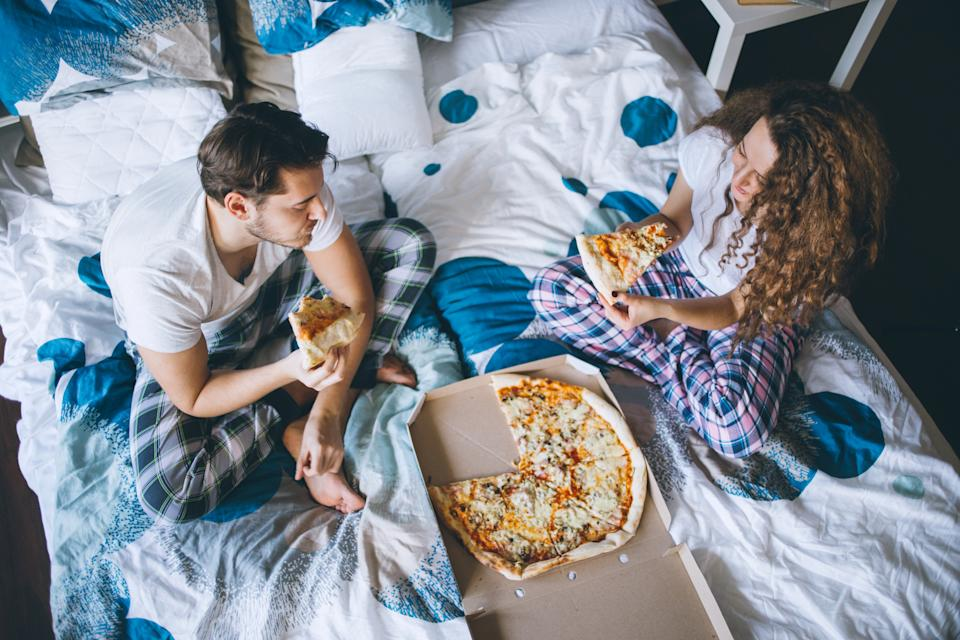 Spicy foods, cheese and junk food can lead to disturbed sleep and nightmares [Photo: Getty]