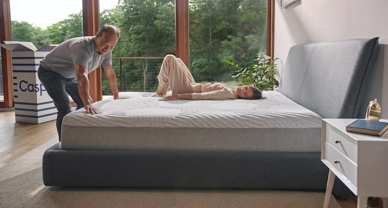 Ready for a new mattress? Casper's knocked 10 percent off a ton of its beloved bed products. (Photo: Casper)