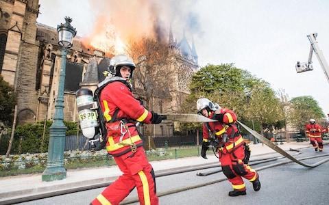 Firefighters tackled the blaze for nine hours - Credit: Universal News And Sport