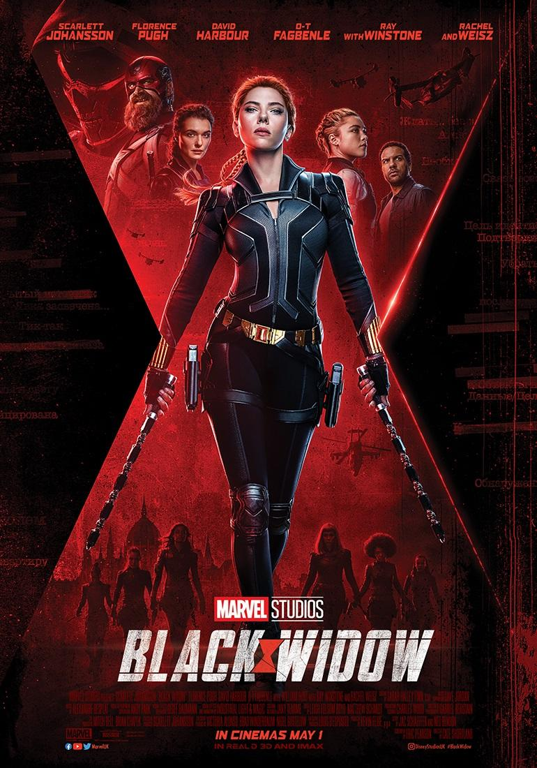 Black Widow - UK payoff poster (Marvel Studios/Disney)