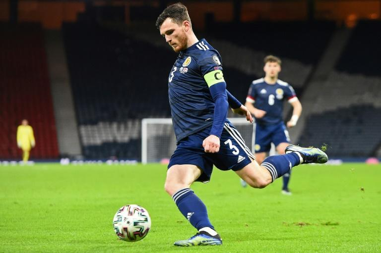 Andy Robertson will lead Scotland into their first major international tournament for 23 years