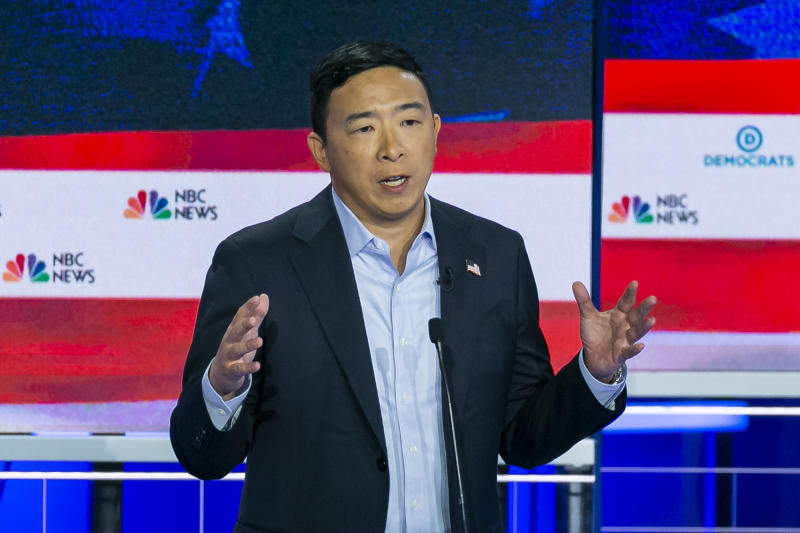 Andrew Yang had less than 3 minutes of debating. Here's what he'd say if he had more time