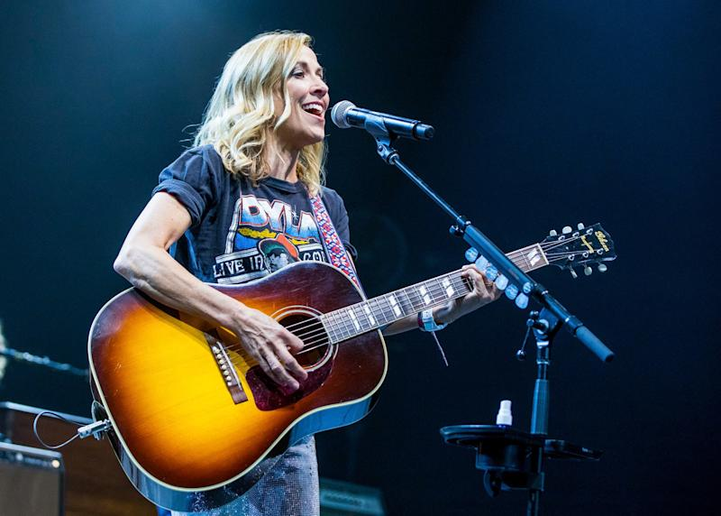 Sheryl Crow said her sons, Wyatt and Levi, like to rewrite her hits.