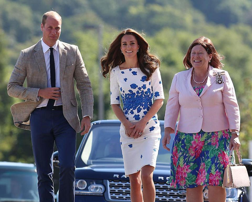 """<p>After a month-long hiatus from the spotlight, Princess Kate re-emerged in one of her <a href=""""https://ca.style.yahoo.com/times-duchess-cambridge-worn-her-174744439.html"""" data-ylk=""""slk:tried, trusted and true;outcm:mb_qualified_link;_E:mb_qualified_link;ct:story;"""" class=""""link rapid-noclick-resp yahoo-link"""">tried, trusted and true</a> LK Bennett frocks.(Photo by Neil Mockford/GC Images)<br></p>"""