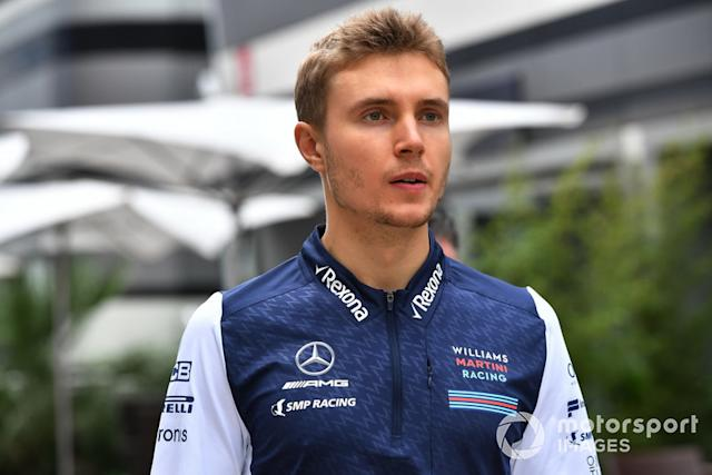 "Sergey Sirotkin <span class=""copyright"">Jerry Andre / Motorsport Images</span>"