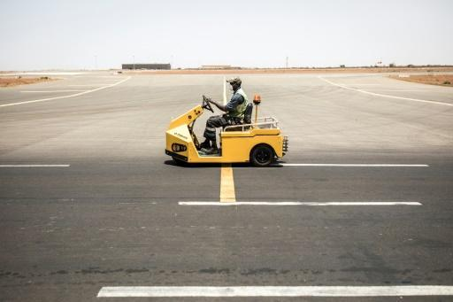 Empty: Dakar's Blaise Diagne International Airport
