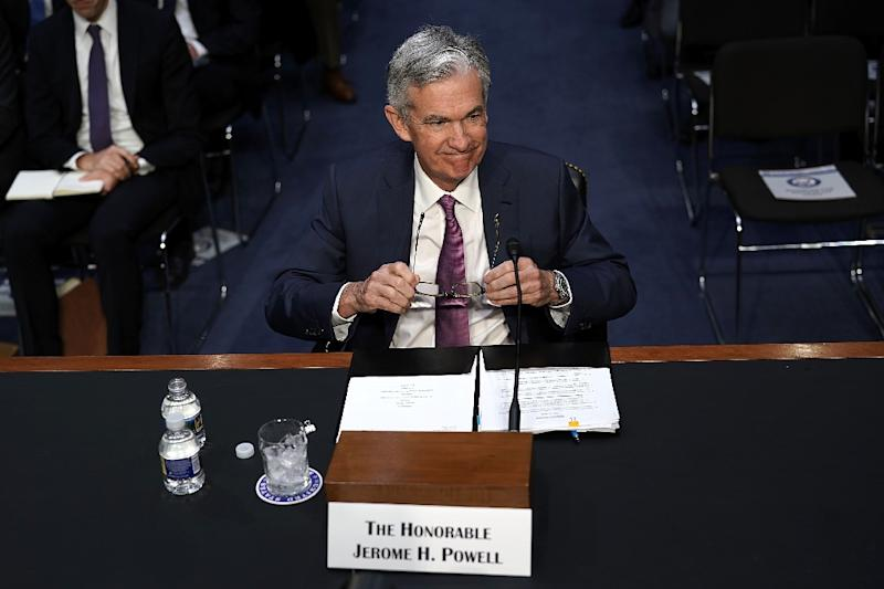 Federal Reserve Board Chairman Jerome Powell said some companies are putting investments 'on ice' amid uncertainty over trade policy