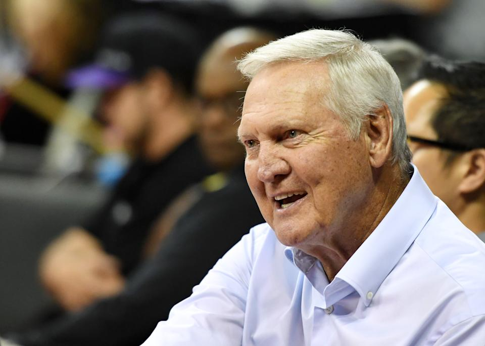 Jerry West loves the Clippers, and thinks they're the best organization he's ever worked with. (Photo by Ethan Miller/Getty Images)