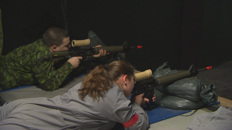 Soldier for a day: Winnipeg students prepare for centennial Vimy Ridge trip