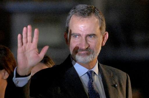 King Felipe VI is making the first visit by a Spanish monarch to the former colony