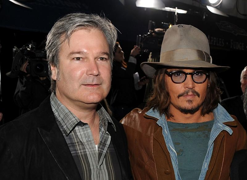 Long-time collaborator Johnny Depp has been in five of director Gore Verbinski's 10 films (AFP Photo/KEVIN WINTER)