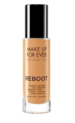 <p>The <span>Make Up For Ever Reboot Active Care Revitalizing Foundation</span> ($39) offers light coverage with a satin finish. If you're looking for a foundation that will show off your skin's natural texture and just slightly improve it, this is for you.</p>