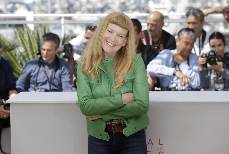 Andrea Arnold at the Cannes Film Festival for 'American Honey' in 2016. (Credit: AP Foto/Lionel Cironneau)