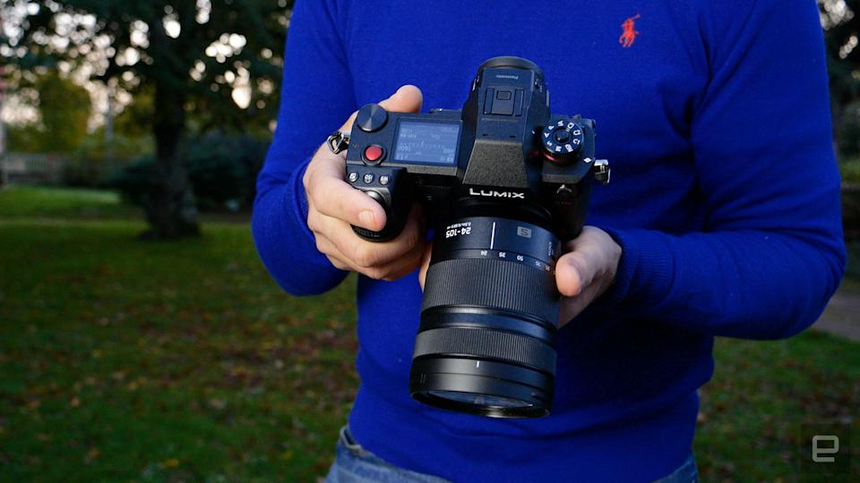 Panasonic S1H mirrorless camera