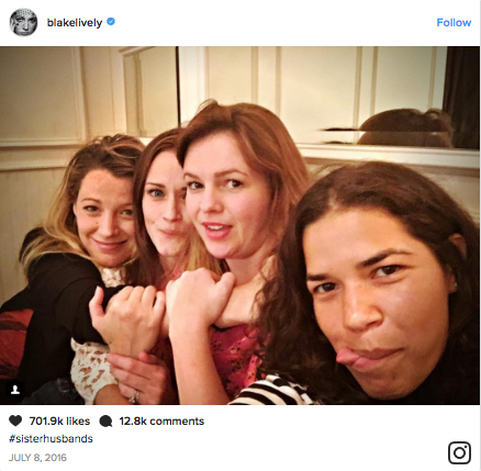Blake Lively, Amber Tamblyn, Alexis Bledel, and America Ferrera tease fans just the right amount.