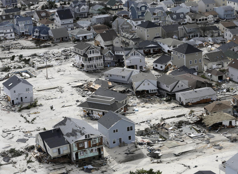 The reward for surviving Sandy may be higher taxes