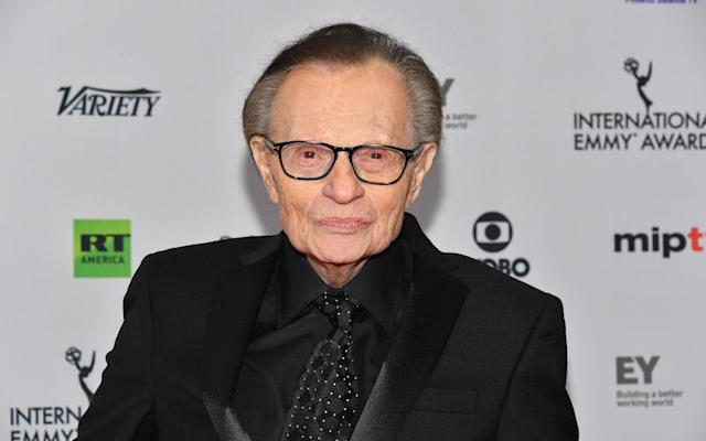 "<p>Longtime radio and television host Larry King, 84, has been accused of groping a woman more than a decade ago. Terry Richard, the 63-year-old ex-wife of late singer Eddie Fisher, claims King groped her on more than one occassion in Los Angeles. In a <a href=""http://www.dailymail.co.uk/news/article-5156899/Larry-King-groped-claims-Eddie-Fishers-ex-wife.html#ixzz514oNBlrS"" rel=""nofollow noopener"" target=""_blank"" data-ylk=""slk:December 11 article by the Daily Mail,"" class=""link rapid-noclick-resp"">December 11 article by the Daily Mail,</a> Richard alleges King slid his hand down the back of her dress and touched her buttocks while the two were posing for a photo at a baseball award dinner in 2005. During a separate alleged incident in 2006, Richard claims King squeezed her behind so hard that it bruised her. Richard told the Daily Mail: ""Larry King is a groper. He groped me twice. He gets a thrill doing this in front of the camera, knowing I couldn't do anything."" The former CNN host has denied the allegations. King's lawyer told the Daily Mail that he ""did no such thing then or ever."" <a href=""https://pagesix.com/2017/12/11/larry-king-claims-hell-sue-daily-mail-tv-over-groping-allegations/"" rel=""nofollow noopener"" target=""_blank"" data-ylk=""slk:While speaking to Page Six,"" class=""link rapid-noclick-resp"">While speaking to Page Six,</a> Bert Fields, who represents King, said the veteran TV personality ""flatly and unequivocally denies these claims"" and intends to sue Daily Mail TV to prove that the claims are ""utterly false."" Photo from Getty Images. </p>"