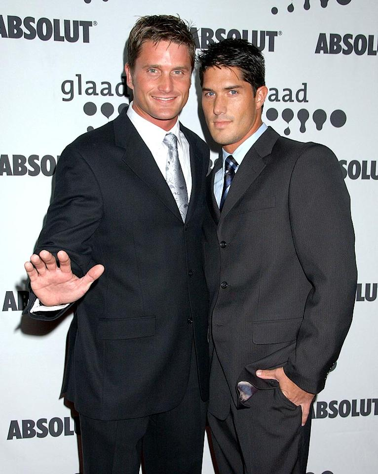 """Reichen Lehmkuhl brings a handsome date with him to the 18th Annual GLAAD Media Awards. Gregg DeGuire/<a href=""""http://www.wireimage.com"""" target=""""new"""">WireImage.com</a> - April 14, 2007"""