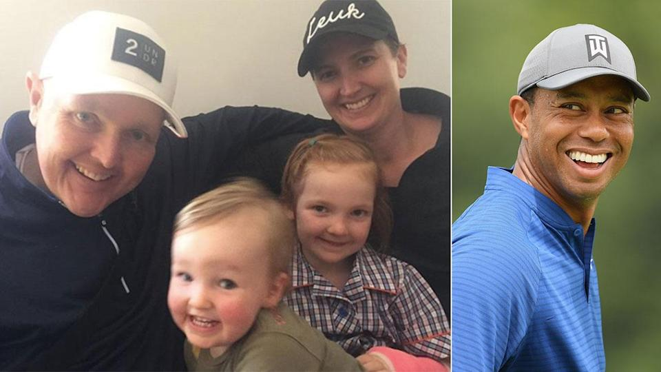 Woods has made a generous donation to the family of Jarrod Lyle. Pic: Getty