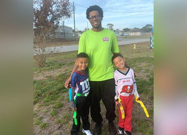 PHOTO: Matt Holland of Central Florida, is pictured with his sons in an undated handout photo. (Courtesy Matt Holland)