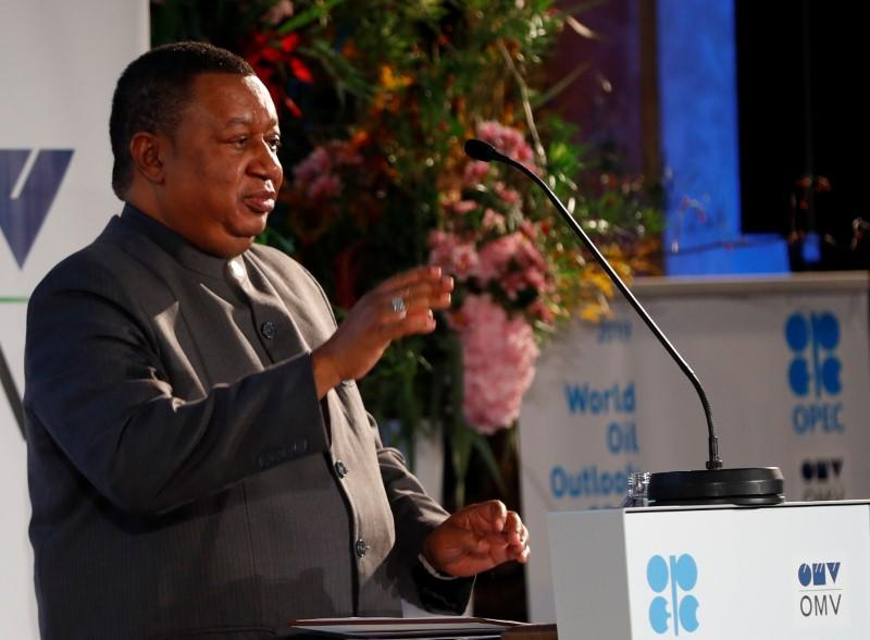 OPEC's Barkindo sees OECD oil stocks below 5-year average after first-quarter 2021