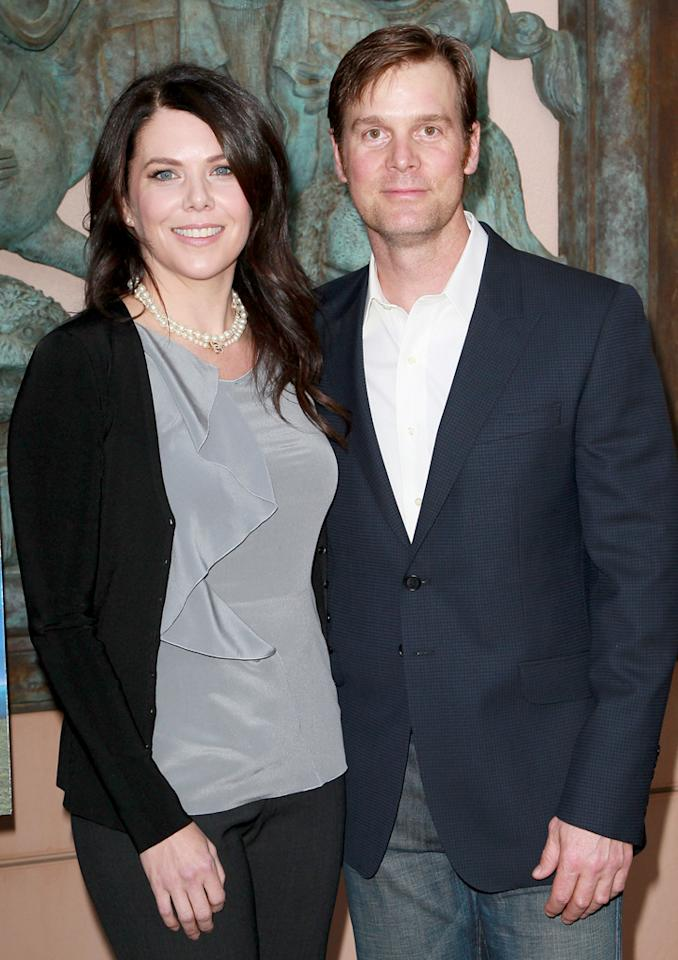 "After working side by side in ""Parenthood"" in 2010, Lauren Graham and Peter Krause quickly realized that they had feelings for one another, but they actually met in 1995 on the set of ""Caroline in the City. ""We met when I first came out [to Los Angeles], but the timing wasn't right,"" she told <a target=""_blank"" href=""http://www.redbookmag.com/fun-contests/celebrity/lauren-graham-dating-peter-krause"">Redbook</a>. ""Though I think we liked each other."" As for working with her real-life boyfriend now – as siblings Adam and Sarah Braverman on ""Parenthood"" – Graham joked to the magazine, ""You can be dismissive and obnoxious to them and no one can blame you – but you can only get away with that on camera."" Kidding aside, she added, ""You know, one of the things that's been so fun [about this relationship] is that it's so easy."""